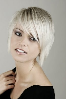 New Punk Hairstyle Short Blonde Hairstyle Trendy