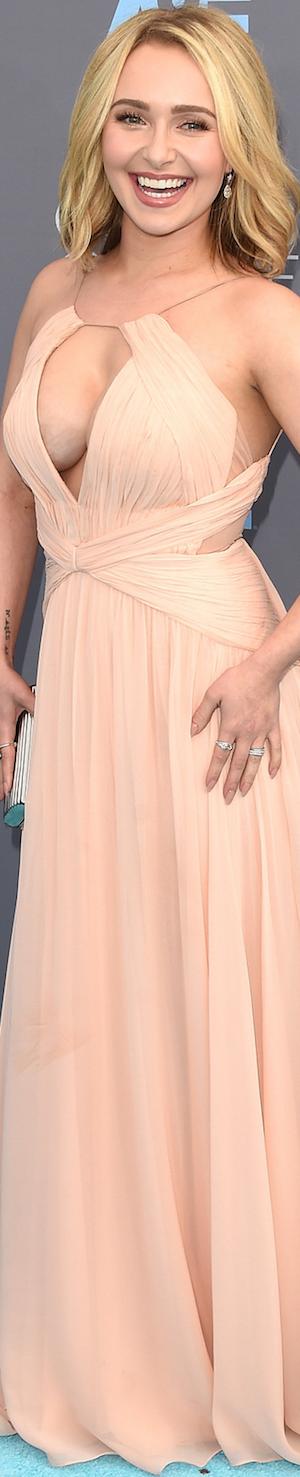 Hayden Panettiere in Maria Lucia Hohan 2016 Critics' Choice Awards