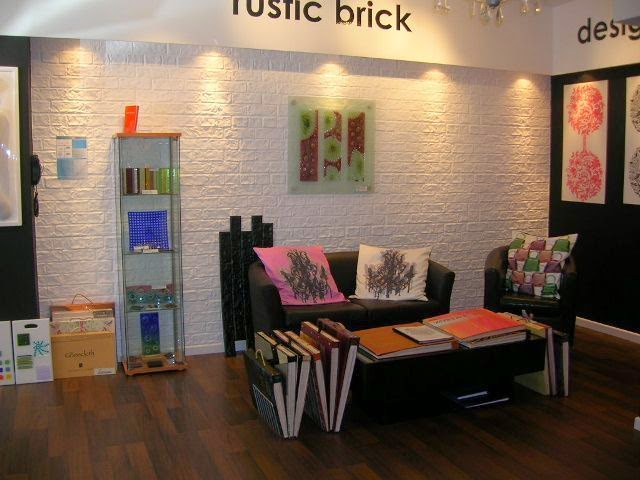 Interior brick wall painting ideas for Interior wall paint designs