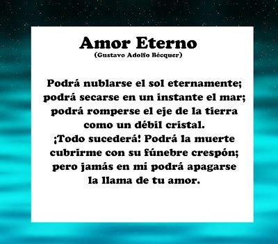 poema amor eterno