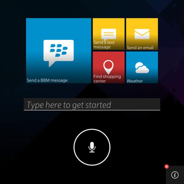 El Nuevo BlackBerry Assistant