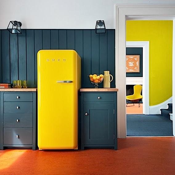 Yellow Small Kitchen Appliances: Tuesday Question: Coloured Kitchen Appliances
