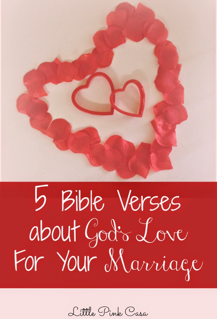 Bible Quotes On Love And Marriage Bible Verses For Marriage  Little Pink Casa