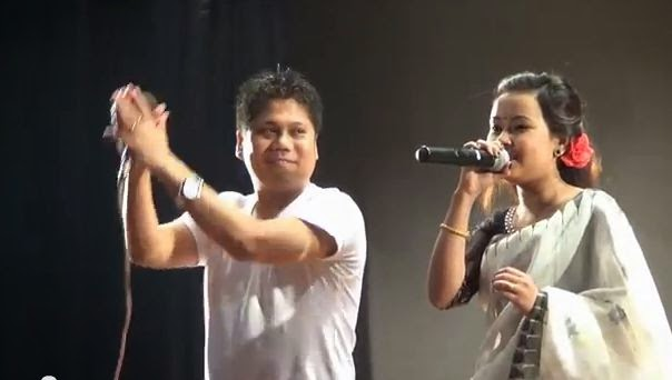 Karigino Nangna Eibu Asuk Wahalliba - Ranbir and Pushparani Live Stage Show