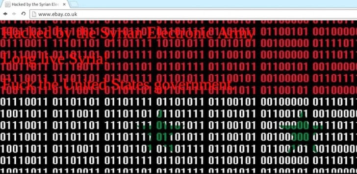 eBay and PayPal UK website hacked by Syrian Electronic Army