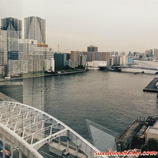 Tokyo, Japan, Harumi Bay, Mango bridge, japansese