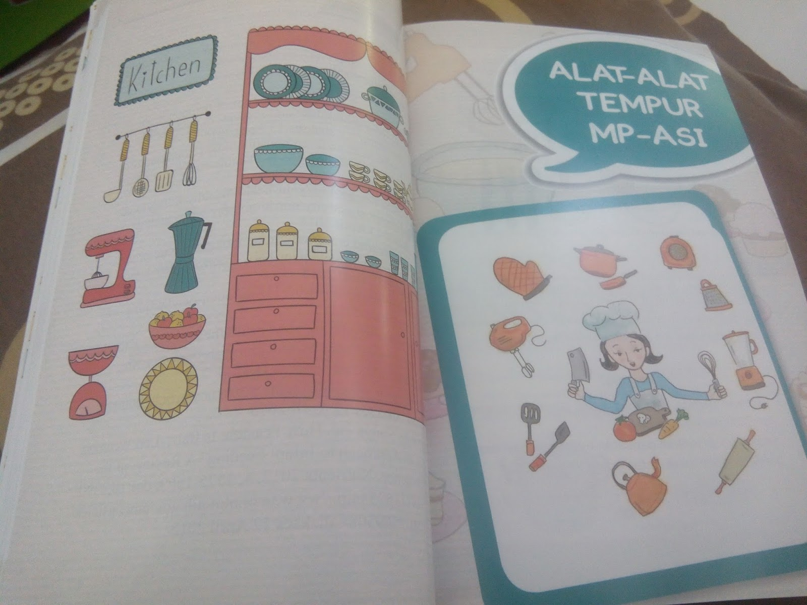 Mini Ensiklopedia Mp Asi Sehat Aggregator Bbi Buku Resep Lengkap Mpasi Wied Harry Makanan Bayi Alami Ilustrasi Dan Warna Eye Catching