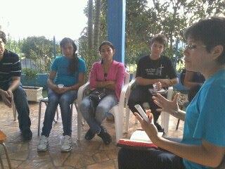 Jovens na formação rumo a Jornada Mundial da Juventude