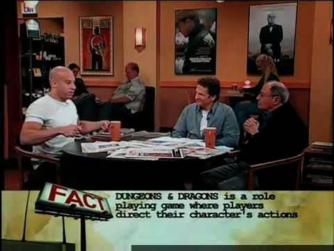 Vin Diesel adalah peminat tegar permainan Dungeons & Dragons