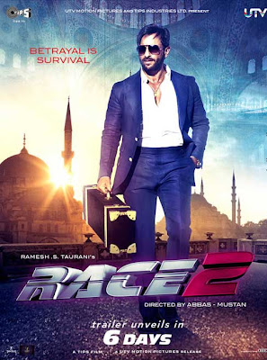 Race 2 First Look Poster