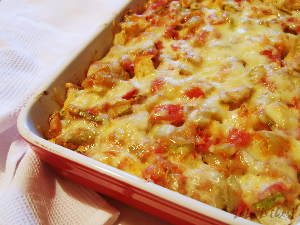 Картофель с фаршем с грибами в духовке рецепты пошагово с