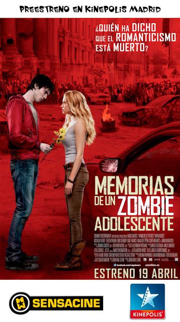 """Concurso preestreno de """"Memorias de un zombi Adolescente"""""""