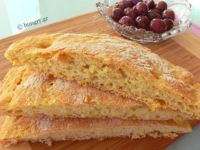 Ψωμί Ciabatta χωρίς Ζύμωμα