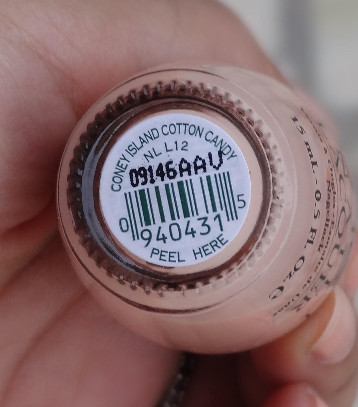 Cotton Candy Nail Polish Opi: O.P.I Coney Island Cotton Candy Swatches, Photos