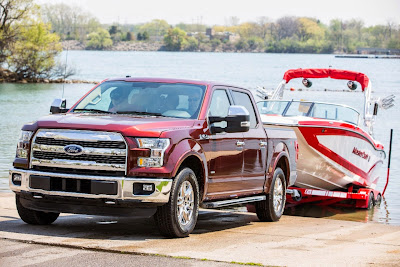 F-150 Showcases New Towing Capabilities