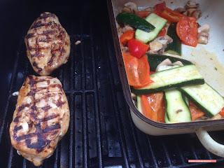 fischiscooking,hühnerbrust, grillen