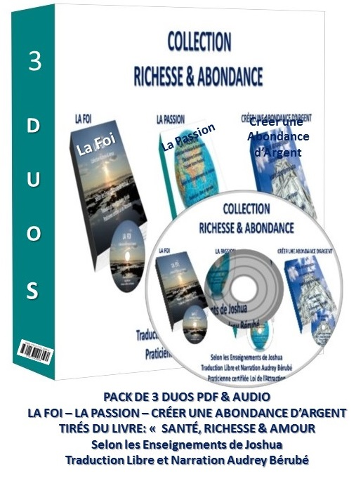 "** NOUVELLE COLLECTION RICHESSE & ABONDANCE "" 3 DUOS"