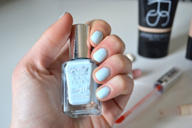 Barry M Gelly Hi Shine Nail Paint in Huckleburry