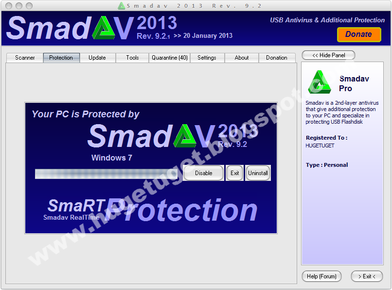 Smadav 2013 Rev. 9.2.1 Pro Full Version