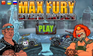 Max Fury Death Racer awesome racing death racing online games free