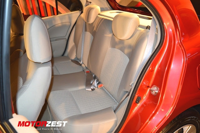 Nissan Micra XShift Interior