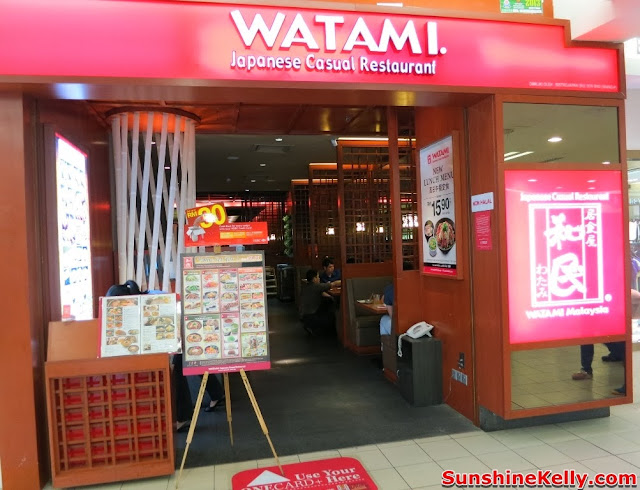 WATAMI Japanese Casual Restautant New Menu Review, WATAMI, Japanese Casual Restautant, japanese food, food