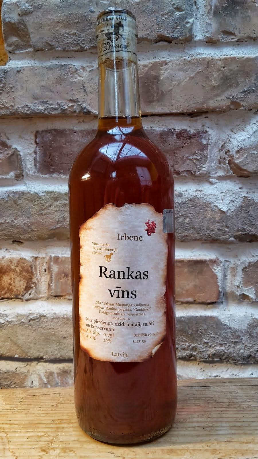 Irbeņu pussaldais vīns 0.75 l