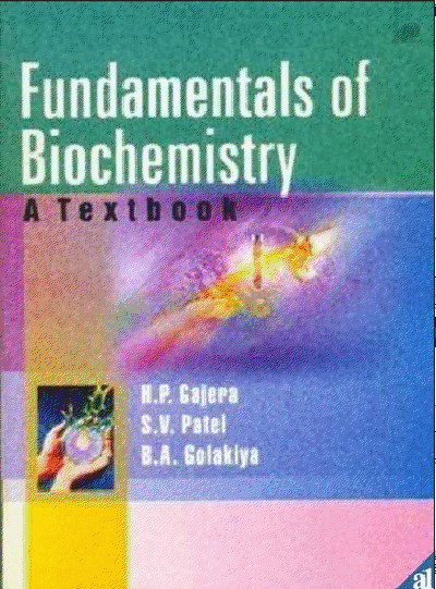 Fundamentals of Biochemistry a Textbook - Free Pdf Books Online