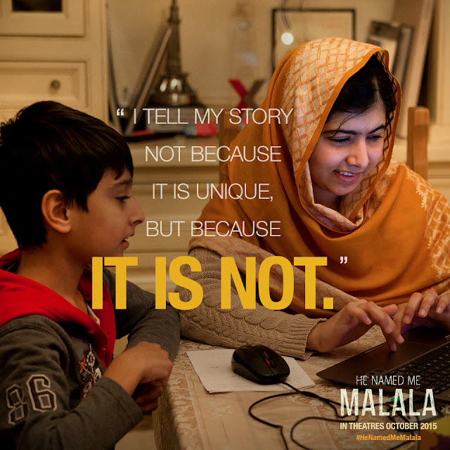 Malala on Change #HeNamedMeMalala