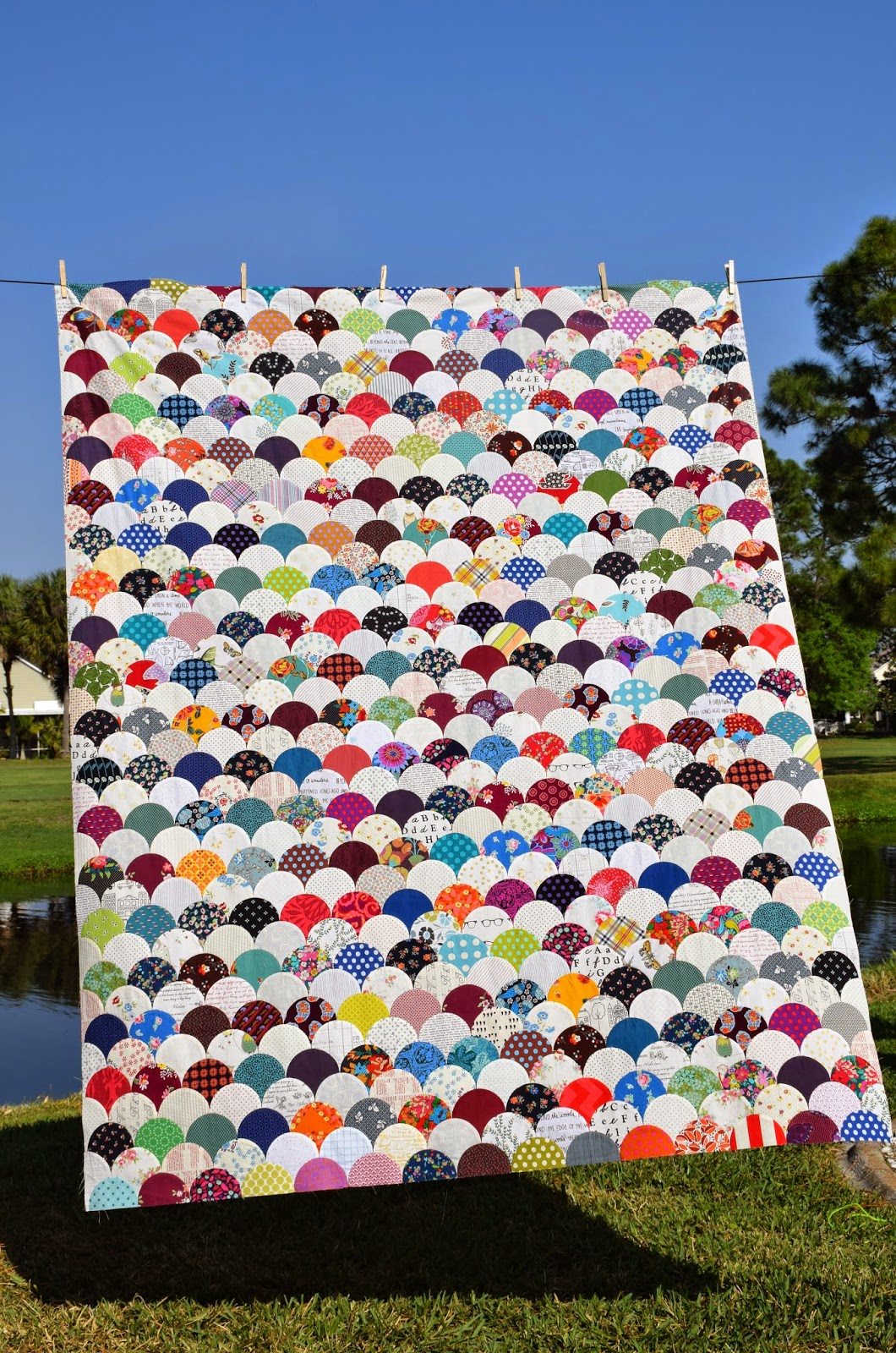 Clambake clamshell quilt