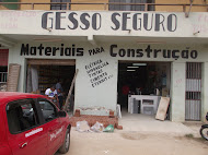 GESSO SEGURO E MATERIAIS PARA CONSTRUO