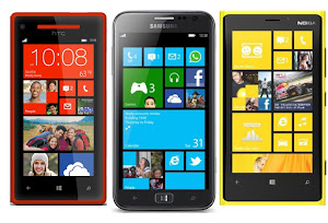 ponsel windows phone 8 terbaik, lumia 920 vs htc 8x, samsung ativ s vs lumia 920