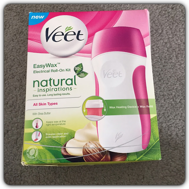 veet easywax electric roll on kit