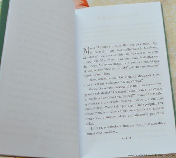 Resenha, livro, Mamãe Walsh, Marian Keyes, Melancia, diagramação, trecho