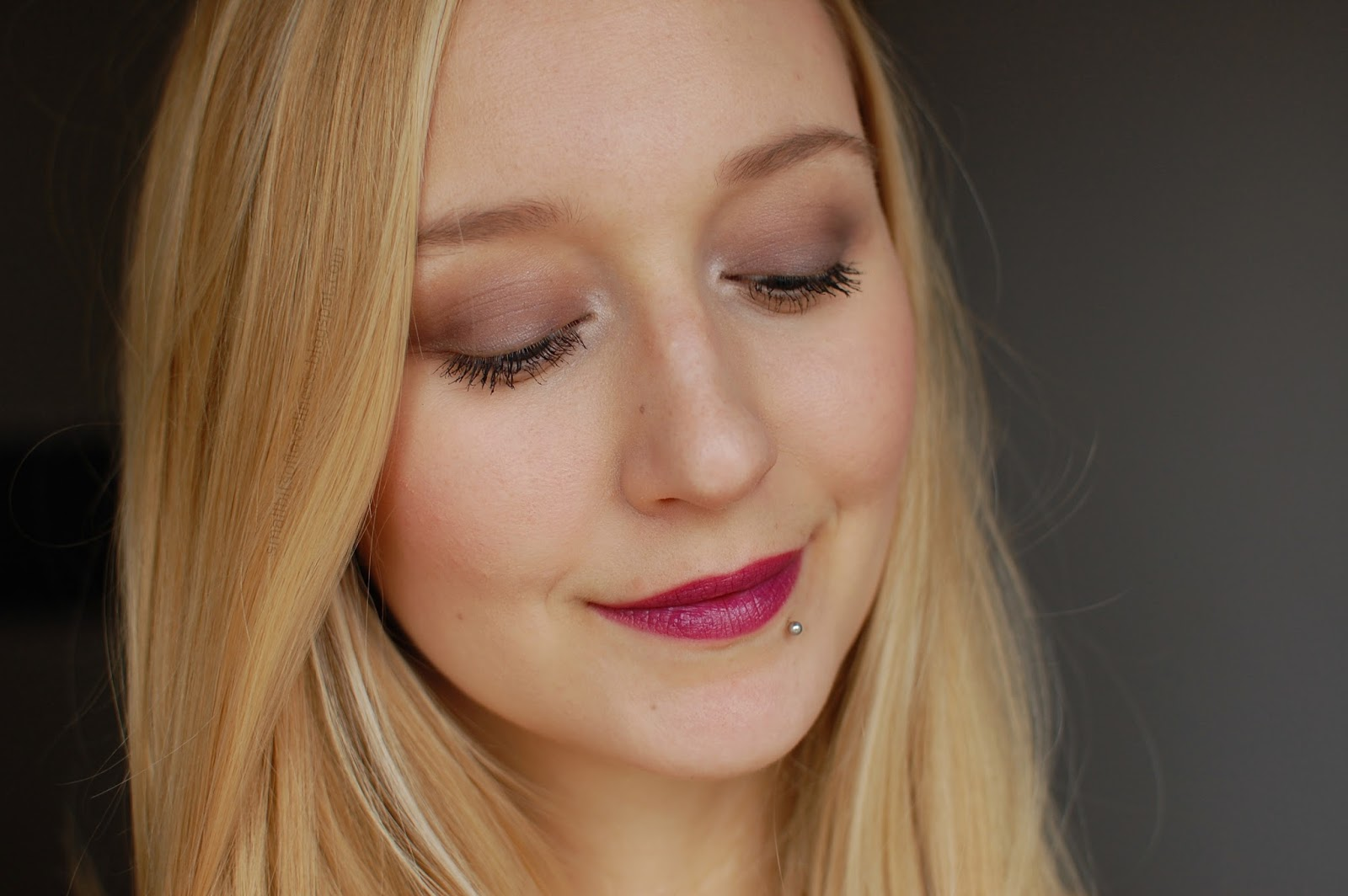 FOTD Ilia Beauty Natural, Organic Lipstick Ink Pot, Lily Lolo Eyeshadow Palette Enchanted