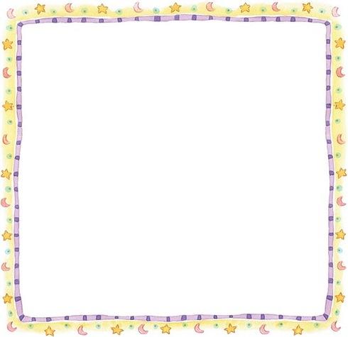 Marcos con estrellas para imprimir - Imagenes y dibujos para imprimir ...