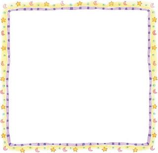 Marcos con estrellas para imprimir