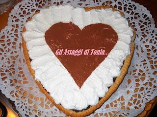 re-cake 2: cream, chocolate and salted caramel tart