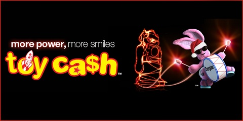 Energizer toy cash