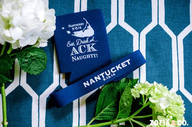 Nantucket Wedding Welcome Bag