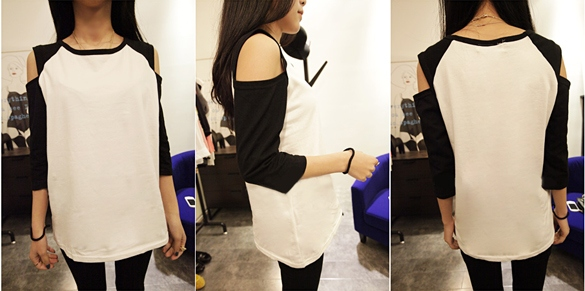 http://www.dresslink.com/new-fashion-korean-womens-top-off-shoulder-12-sleeve-tshirt-casual-wear-p-5757.html