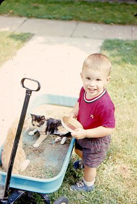Climbing My Family Tree: Carl and kittens