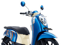 Harga Dan Spesifikasi Scoopy FI Warna Biru