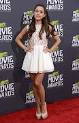 Ariana Grande en Los mtv movie awards 2013 (actress ariana grande arrives at the mtv movie awards in culver)