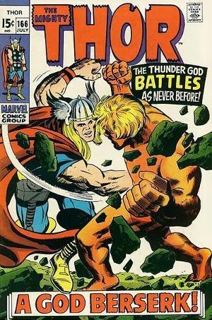 Thor #166 image