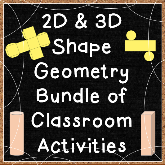2D & 3D Shape Geometry Printables for Common Core