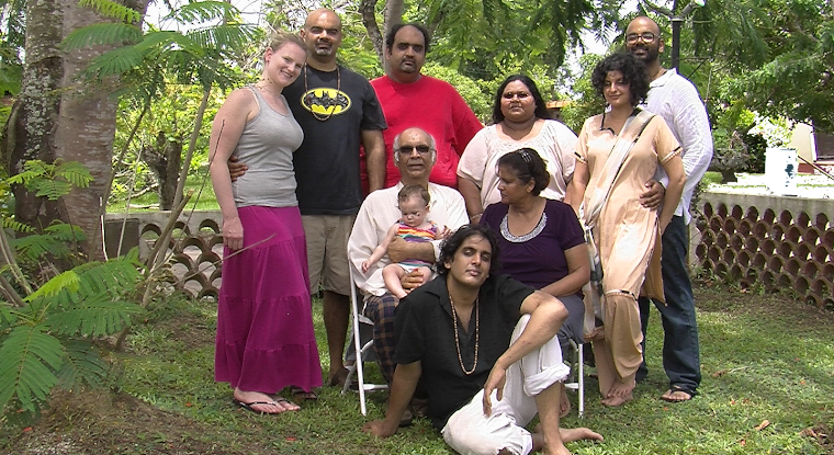 Our family in Trinidad 2012