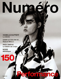 Lindsey Wixson Numéro Magazine Cover February 2014 HQ Scans