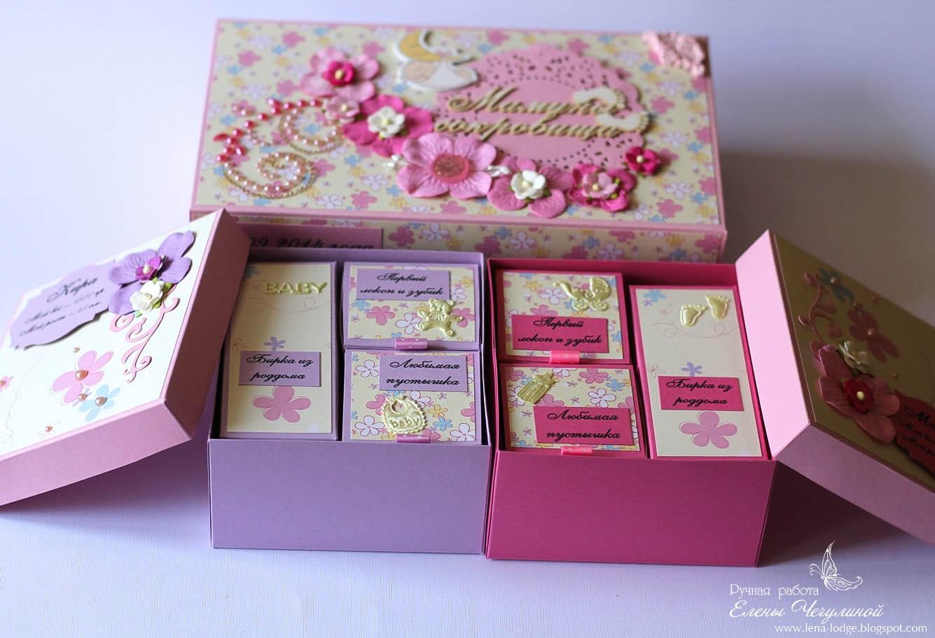 Подарочная коробка своими руками: пошаговая 31