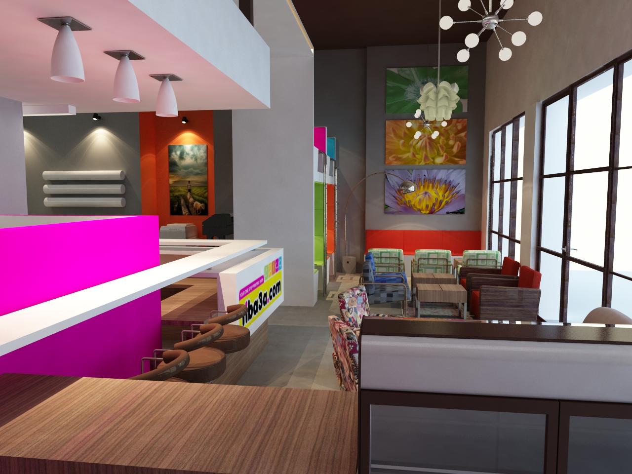 Arhitectura De Interior Square 2 Design Coffee Shop